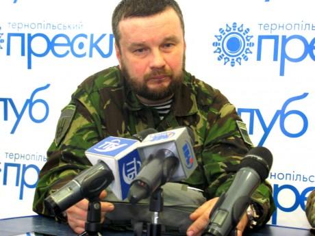 Захисник Донецького аеропорту в Тернополі: Проти нас воюють елітні російські війська (відео)