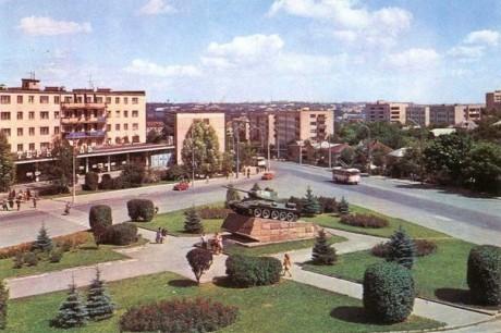 Тернопіль, 70-ті роки Фото: Від Тарнополя до Тернополя