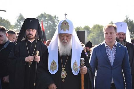 На Тернопільщину прибув Святійший Патріарх Київський і всієї Русі-України Філарет (фото)