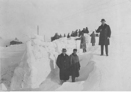 Сніжна зима 1929 року на Тернопільщині: фотофакт