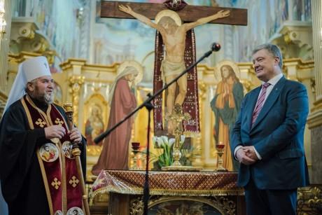 Що Петро Порошенко робив в Тернополі?