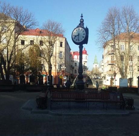 Весняний час в Тернополі стартував