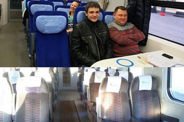 Тернополяни обурені «новими» вагонами «Інтерсіті» Київ-Тернопіль
